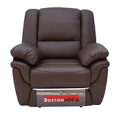 Шкіряне крісло-реклайнер ALABAMA, 0309 (98 см), фото 3