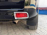 Хром накладки на задние противотуманные фары Toyota Land Cruiser Prado 150