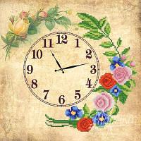 Часы. Старинные розы