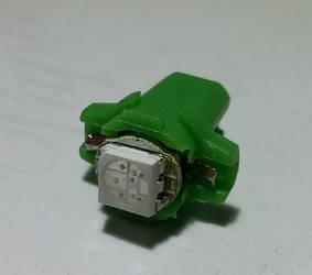 H-B8.7D, лампа зеленого кольору світіння 1pcs 5050