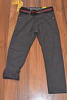 Котоновые утеплённые штаны на флисе для мальчиков.Размеры 6-16.Фирма S&D