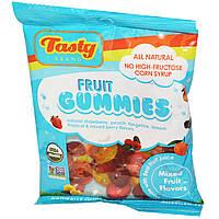 Фруктовые снеки с разными вкусами, Mixed Fruit Flavors, Tasty Brand, 78 г