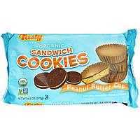 Tasty Brand, Organic Sandwich Cookies, Peanut Butter Cup, 9.5 oz (273 g)