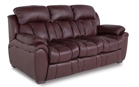 """Шкіряний розкладний диван """"BOSTON"""" (200см), коричневий (4 кольори в наявності), фото 2"""