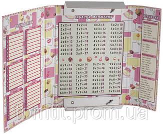 """Папка картонная для тетрадей """"Pop Pixie"""" (на резинке), фото 2"""