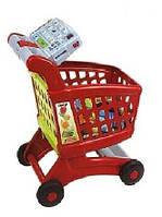 Тележка для покупок в супермаркете 08059 A с продуктами и калькулятором