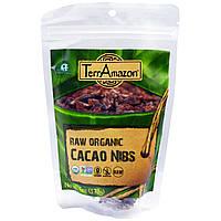 TerrAmazon, Сырые органические ядра какао-бобов, 6 унций (170 г)