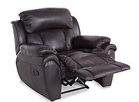 Кожаное кресло с реклайнером - BOSTON, 5009 (106 см)