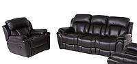 Раскладной диван в комплекте с креслом-реклайнером BOSTON, 5009