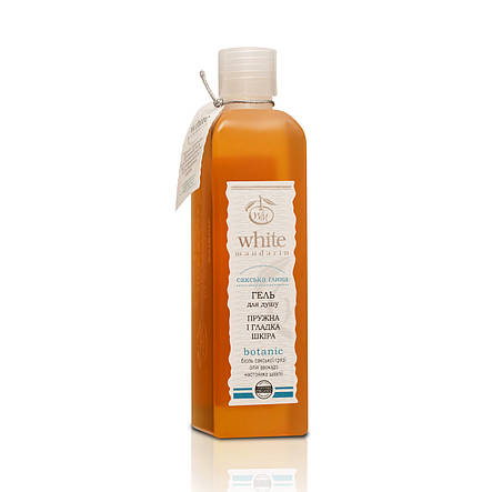 "Натуральная косметика «White Mandarin» (WM0005) гель для душа, серия ""Сакская глина"", 250 мл, фото 2"
