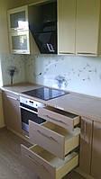 Кухня «Одуванчики» глянец