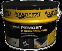 Битумная мастика AquaMast ремонт и приклеивание, 10кг