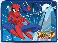 Портфель пластиковый «Spider-Man (Человек - паук)», на молнии с тканевыми ручками, формат А-3