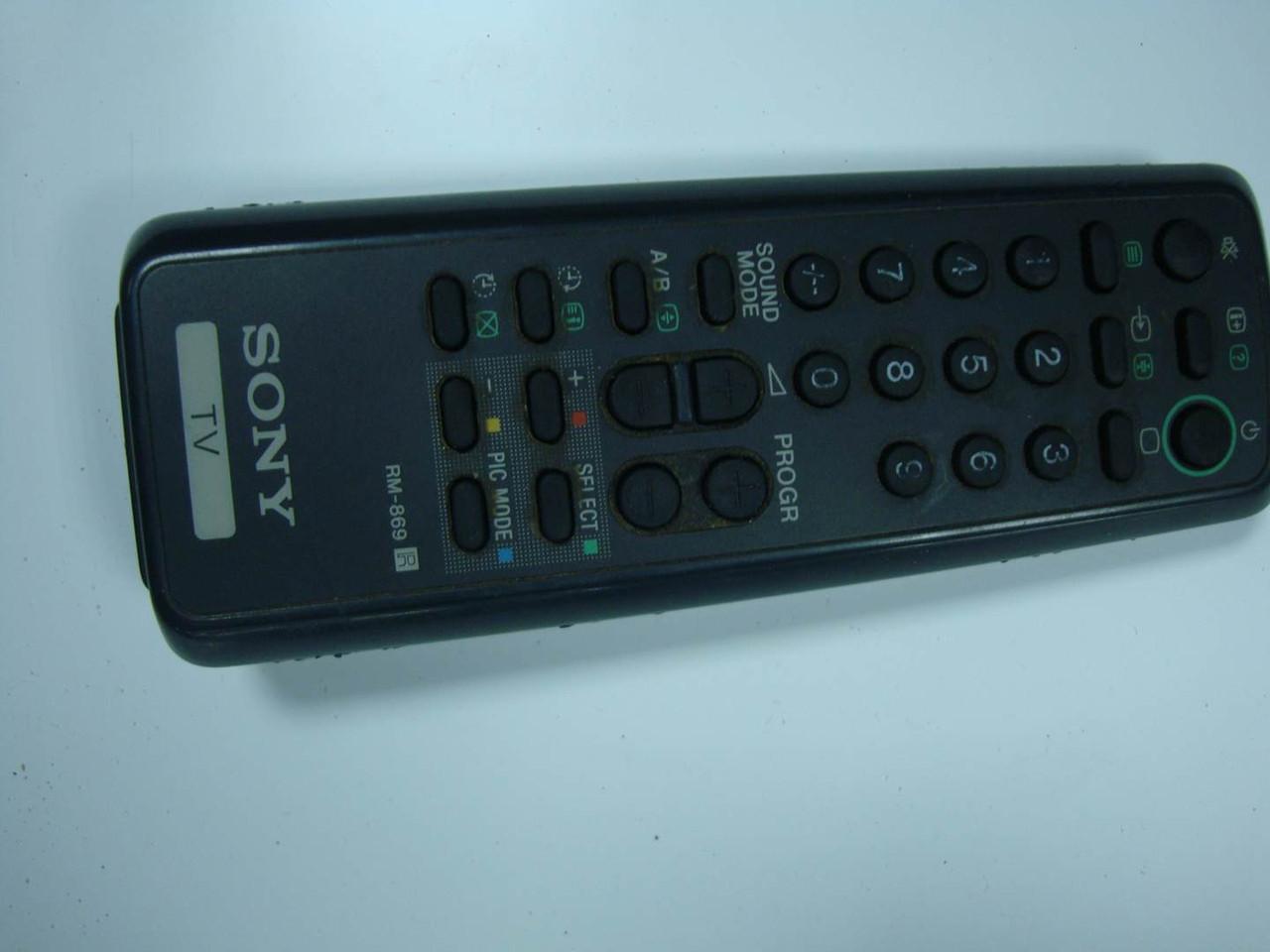 Пульт ДУ SONY RM-869 для телевизора Оригинал