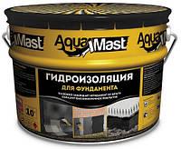 Битумная мастика для фундаментов AquaMast, 10кг