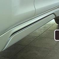Пороги выдвижные WING DECK Modellista на Toyota Land Cruiser 150 Prado