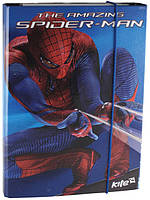 """Папка картонная для тетрадей (на резинке), """"Spider-Man"""" (""""Человек-Паук""""), ТМ Kite"""