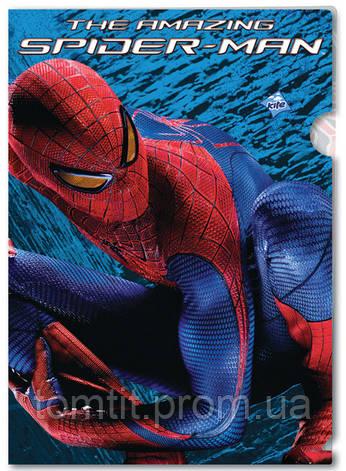 "Папка-уголок, пластиковая (формат А4), ""Spider-Man"" (""Человек-Паук""), ТМ Kite, фото 2"
