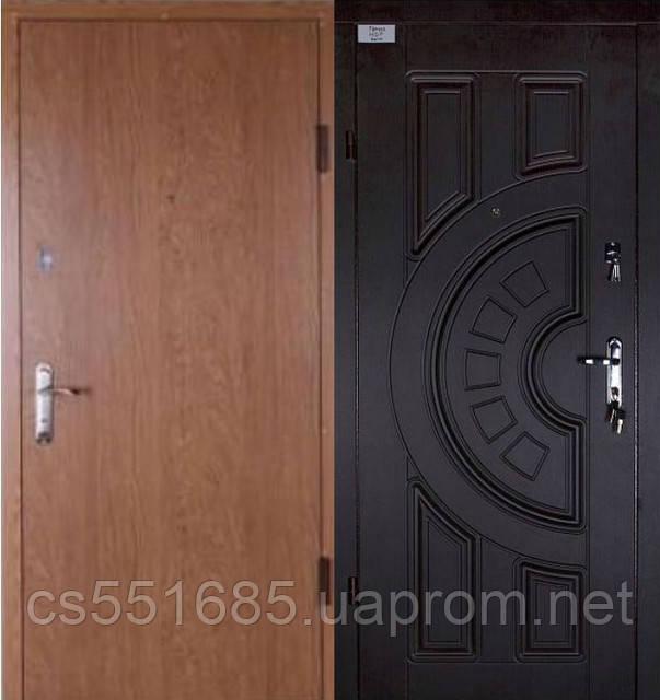 Муссон-С2 (самоклейка + МДФ +2 замка). Входные металлические двери
