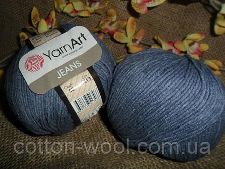 YarnArt Jeans (Ярнарт Джинс)  68 серо-джинсовый
