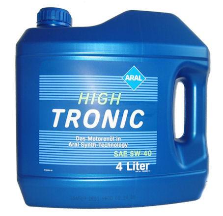 Моторное масло Aral High Tronic 5W-40 4Л