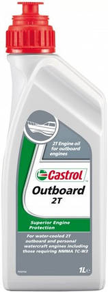Моторное масло CASTROL Outboard 2T 1Л, фото 2