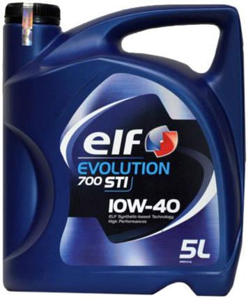Моторное масло ELF EVOLUTION 700 STI 10W40 5Л, фото 2