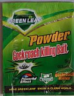 Средство от тараканов  порошок Green leaf оригинал качество