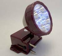 Фонарик светодиодный 162 (12 светодиодов,аккумулятор, зарядка в комплекте)    . dr