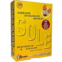 TRR Enterprises Inc., Inner Health Sole Pads, 30 пластырей