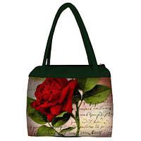 Сумка Сатчел Красная роза