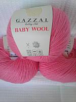 Baby Wool № 828 розовый.