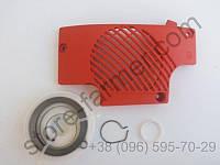Крышка стартера с роликом в сборе для Makita DCS 400, DCS 401