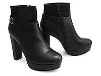 Ботильоны, ботинки женские на устойчивом каблуке