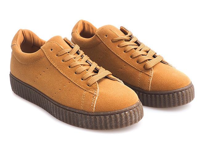Бежевые ботинки, клиперсы размеры 36-39