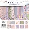 Scrapmir Набор двухсторонней бумаги 20х20см Delicious Recipes 10шт