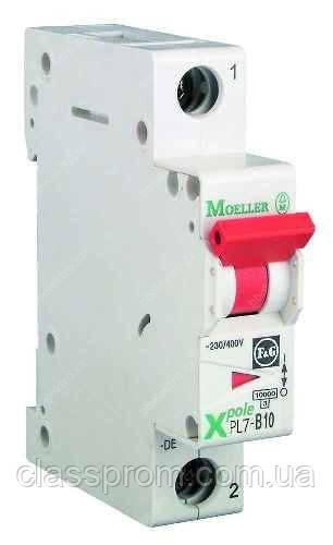 Автоматический выключатель 1-полюс. PL7-B6/1 EATON