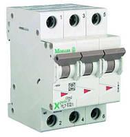 Автоматичний вимикач 3-полюс. PL7-B16/3 EATON, фото 1