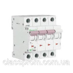 Автоматический выключатель 3+N-полюс. PL7-B63/3N EATON