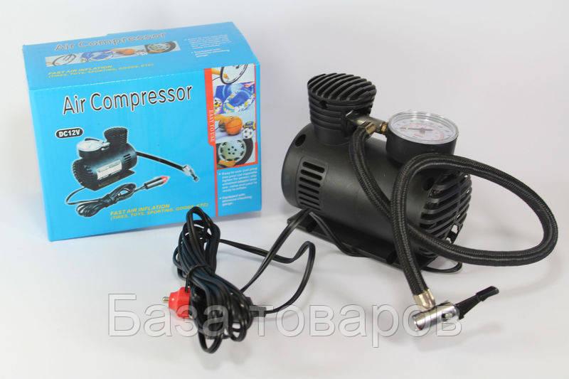 Компрессор автомобильный для подкачки шин Air Pomp Ji030, электрический компрессор для шин - База товаров в Одессе