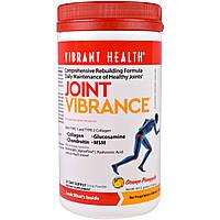 Vibrant Health, Средство для суставов Joint Vibrance, версия 4.0, апельсин и ананас, 13,1 унции (371,7 г)