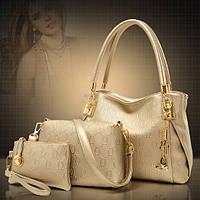 Стильная кожаная женская сумка. Модель 04301, фото 1