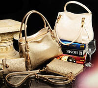 Стильная кожаная женская сумка. Модель 479, фото 2