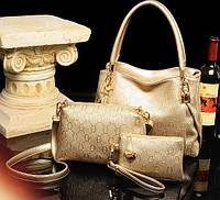 Стильная кожаная женская сумка. Модель 479, фото 3