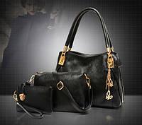Стильная кожаная женская сумка. Модель 479, фото 5
