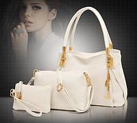 Стильная кожаная женская сумка. Модель 479, фото 6