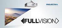 Projecta FullVision уникальный проекционный экран со стационарной рамой без полей по периметру.