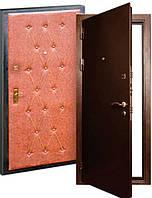 Союз-1 (молотковая покраска 2,0мм + кожвинил+ 1 замок). Входные металлические двери