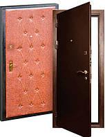 Союз-2 (молотковая покраска 2,0мм + кожвинил+ 2 замка). Входные металлические двери