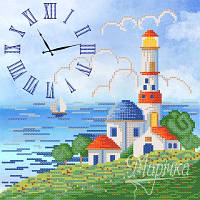 Часы. Синее море